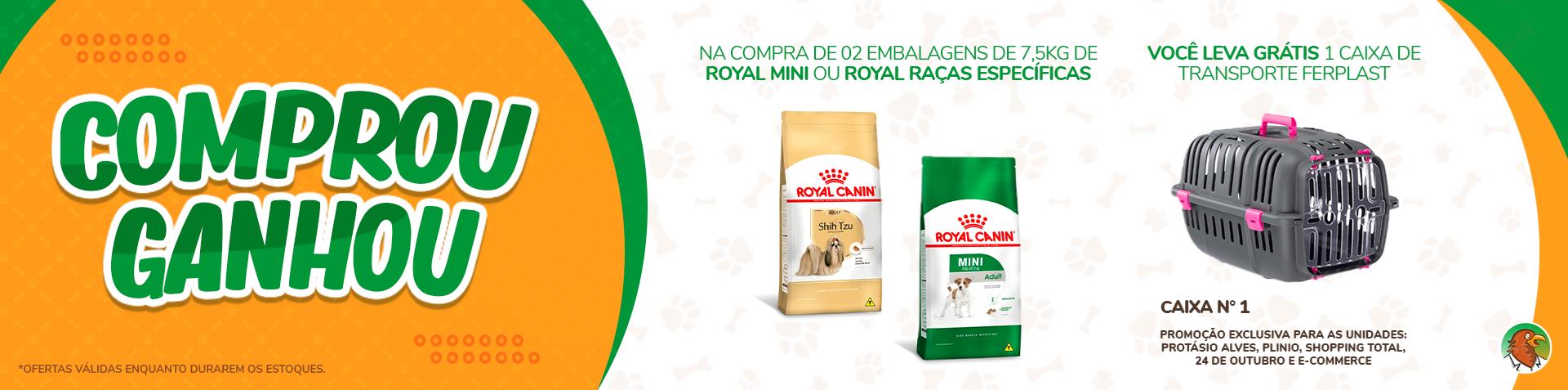 Promoção Royal Canin
