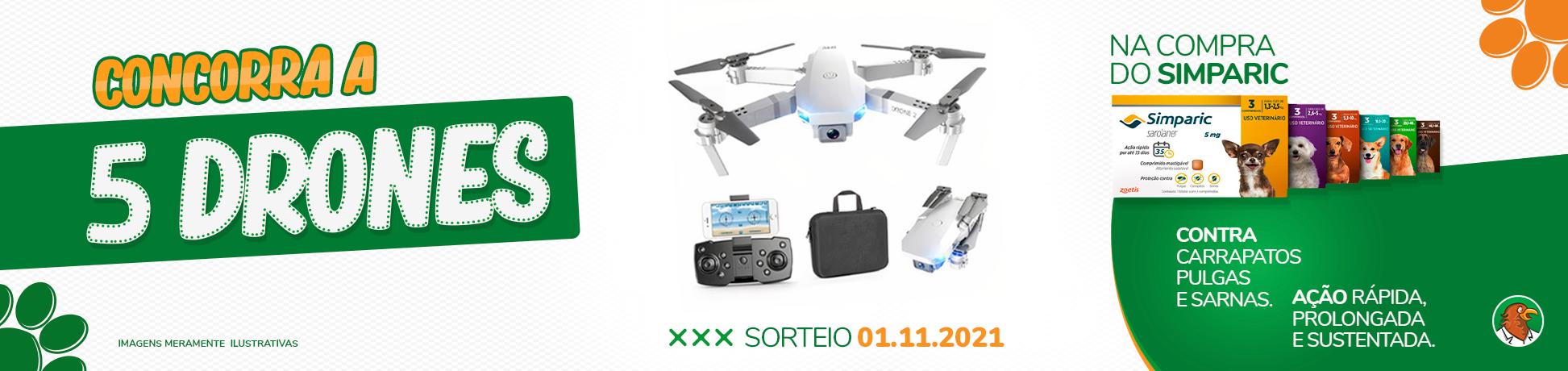 Promoção Simparic Concorra a 5 Drones