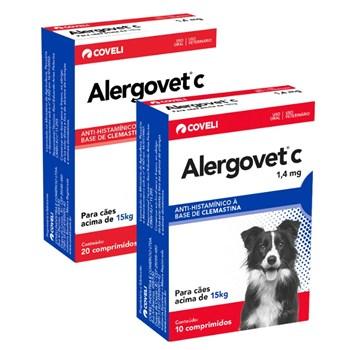 Anti-inflamatório Alergovet Cães e Gatos 1,4mg