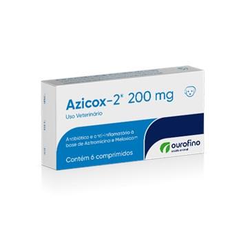 Anti-inflamatório Azicox-2 Cães e Gatos 200mg