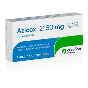 Antibiótico e Anti-inflamatório Azicox-2