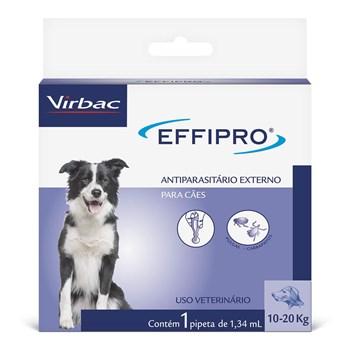 Antipulgas e Carrapatos Effipro Cães de 10Kg até 20Kg