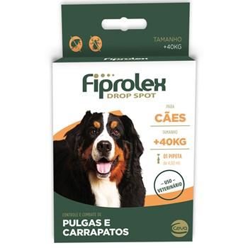 Antipulgas e Carrapatos Fiprolex Drop Spot Cães Acima de 41Kg