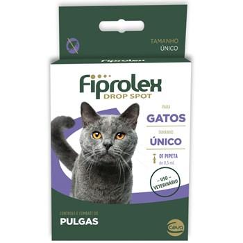 Antipulgas e Carrapatos  Fiprolex Drop Spot Gatos