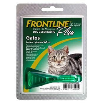 Antipulgas e Carrapatos Frontline Plus Gatos até 10Kg