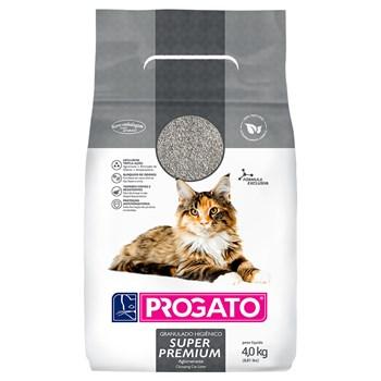 Areia Sanitária Progato Super Premium Gatos Grãos Pequenos