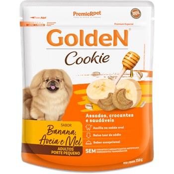 Biscoito Golden Cookie Banana, Aveia e Mel - Cães Adultos