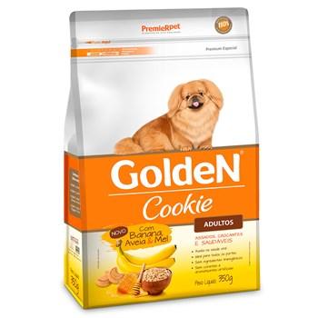 Golden Cookie Cães Raças Pequenas Adulto Banana, Aveia e Mel