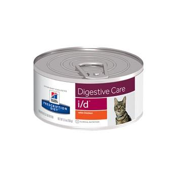 Lata Hill's Prescription Diet I/D Cuidado Urinário Gatos Adultos Frango