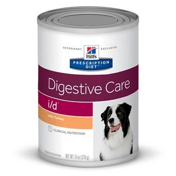 Lata Hill's Prescription Diet I/D Gastro Intestinal Cães Adultos Frango