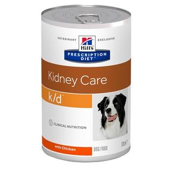 Lata Hill's Prescription Diet K/D Controle Renal Cães  Adultos Frango