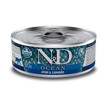 Lata N&D Ocean Gatos Adultos Atum