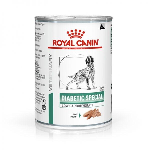Lata Royal Canin Veterinary Diabetic Cães Adultos