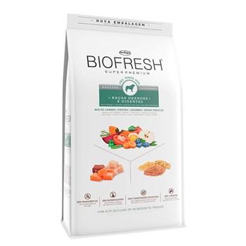 Ração Biofresh Cães Castrados Raças Grandes e Gigantes Adulto Mix de Carnes, Frutas, Legumes e Ervas Fresca 15Kg
