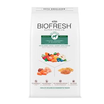 Ração Biofresh Cães Raças Grandes e Gigantes Adulto Mix de Carnes, Frutas, Legumes e Ervas Fresca 15Kg