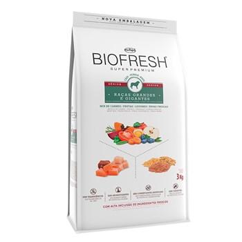 Ração Biofresh Cães Raças Grandes e Gigantes Sênior Mix de Carnes, Frutas, Legumes e Ervas Fresca