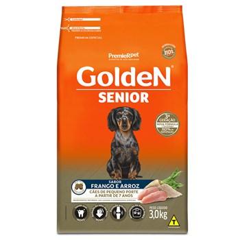Ração Golden Formula Cães Raças Pequenas Sênior Frango e Arroz