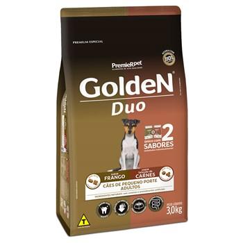Ração Golden Formula Duo Cães Adultos Raças Pequenas Frango e Carne
