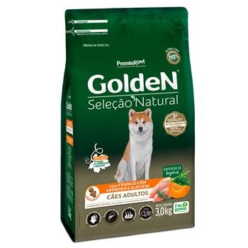 Ração Golden Seleção Natural Cães Adultos Raças Pequenas Frango com Abóbora e Alecrim