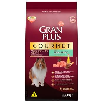 Ração Gran Plus Gourmet Cães Porte Médio e Grande Adultos Peru