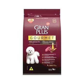 Ração Gran Plus Gourmet Cães Raças Pequenas e Mini Adultos Ovelhas