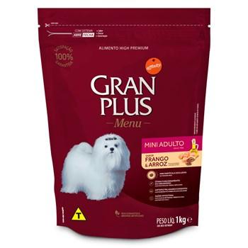 Ração Gran Plus Menu Cães Mini Adultos Frango