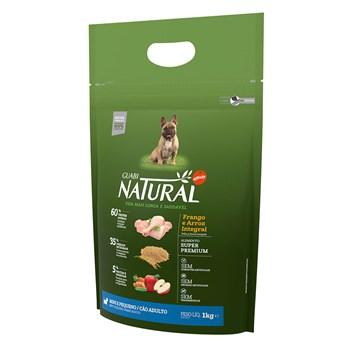 Ração Guabi Natural Cães Raças Pequenas e mini Adultos Frango
