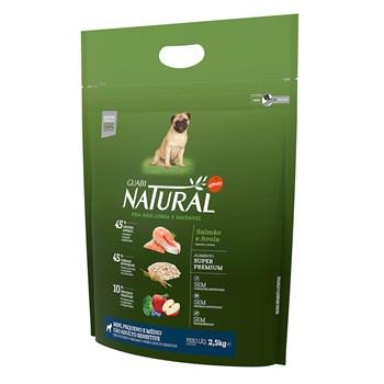 Ração Guabi Natural Sensitive Cães Raças Pequenas e mini Adultos Salmão