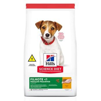 Ração Hill's Science Diet Cães Pedaços Pequenos Filhotes Frango