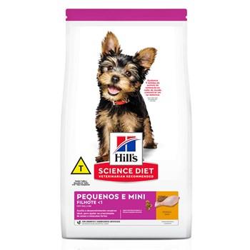 Ração Hill's Science Diet Cães Pequeno e Mini Filhote Frango