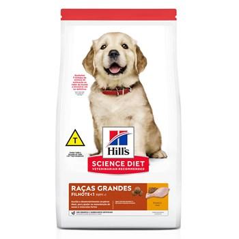 Ração Hill's Science Diet Cães Raças Grandes Filhotes Frango