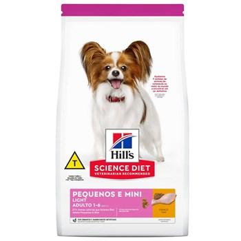 Ração Hill's Science Diet Light Cães  Pequenos e Mini Adultos Frango