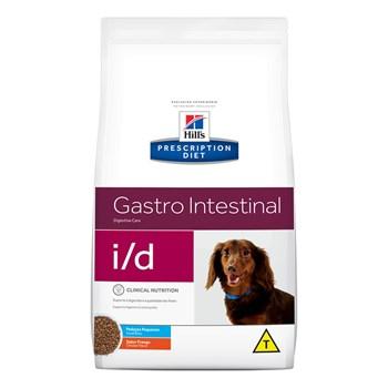 Ração Hill's Prescription Diet  I/D Gastro Instestinal Raças Pequenas Cães Adultos Frango