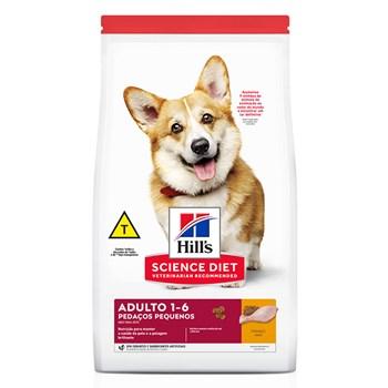 Ração Hill's  Science Diet Cães Pedaços Pequenos Adultos Frango