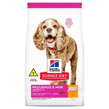 Ração Hill's  Science Diet Cães Pequenos e Mini Adultos 11+ Frango