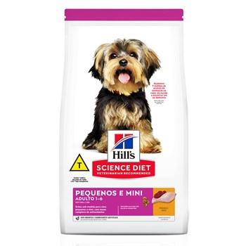 Ração Hill's Science Diet Cães Pequenos e Mini Adultos Frango