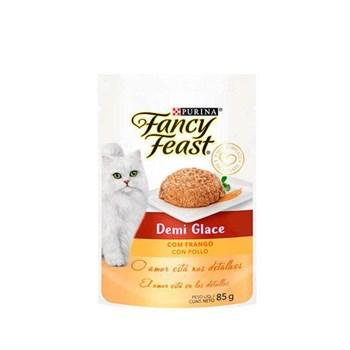 Ração Purina Fancy Feast Demi Glace Com Frango - Gatos Adultos