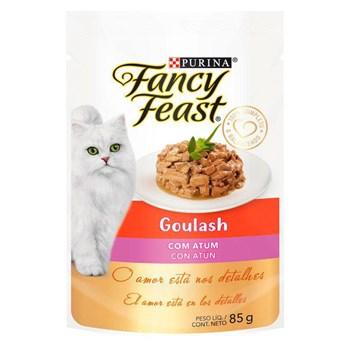 Ração Purina Fancy Feast Goulash Com Atum - Gatos Adultos