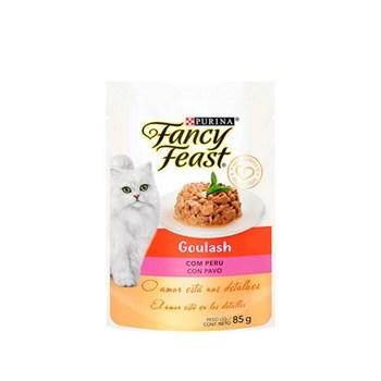 Ração Purina Fancy Feast Goulash Com Peru - Gatos Adultos