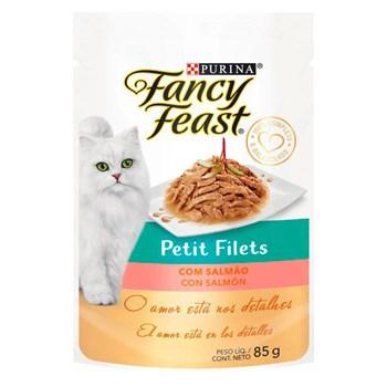 Ração Purina Fancy Feast Petit Filé Com Salmão - Gatos Adultos