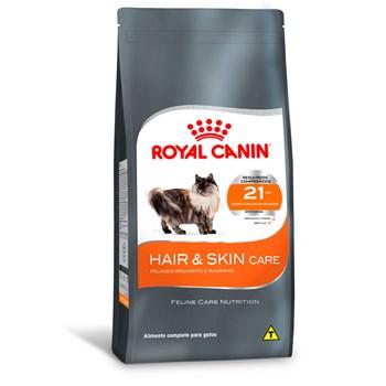 Ração Royal Canin Gatos Hair & Skin Adultos
