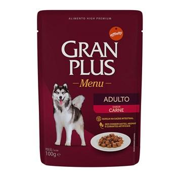 Sachê Gran Plus Cães Adultos Carne