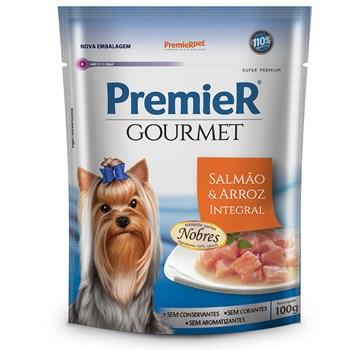Sachê Premier Gourmet Cães Adultos Atum e Arroz Integral