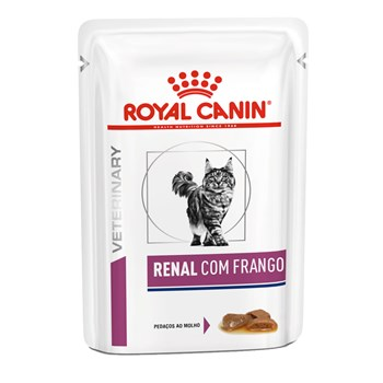 Sachê Royal Canin Veterinary Renal  Gatos Adultos