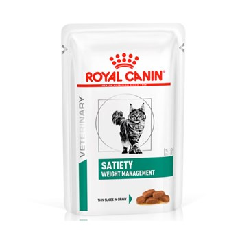 Sachê Royal Canin Veterinary Satiety Gatos Adultos