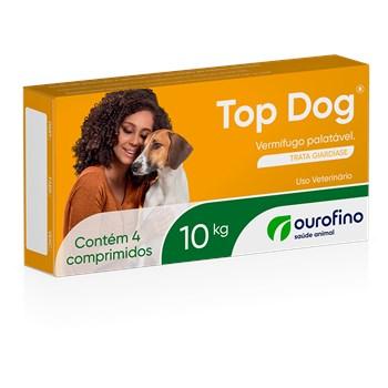 Vermífugo Cães Top Dog até 10Kg