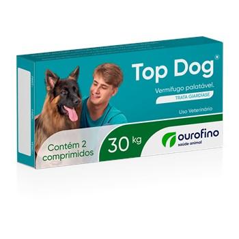 Vermífugo Cães Top Dog até 30Kg
