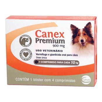 Vermifugo Canex Premium Cães Até 10Kg
