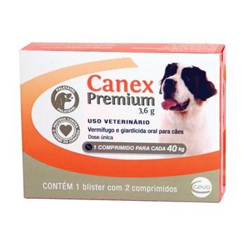 Vermifugo Canex Premium Cães Até 40Kg